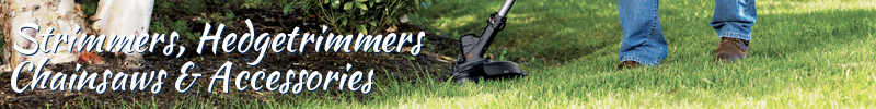 Strimmers, Hedgetrimmers, Chainsaws & Accessories