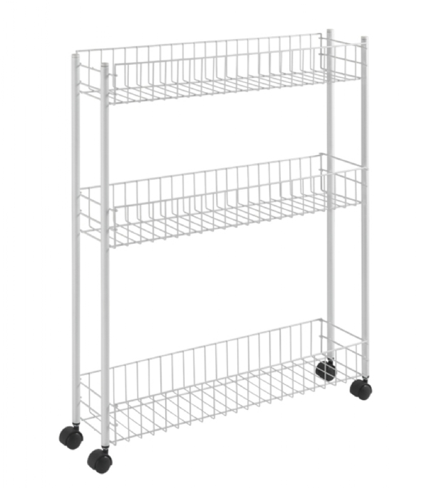 Picture of Fino 3 Tier Slim Rolling Trolley