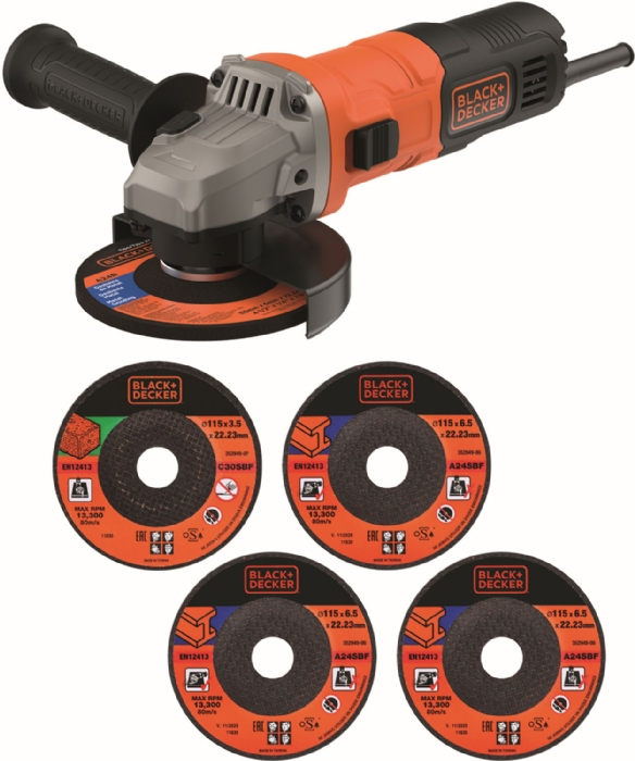 Picture of Black & Decker BEG010 115mm 710w Sander/Grinder
