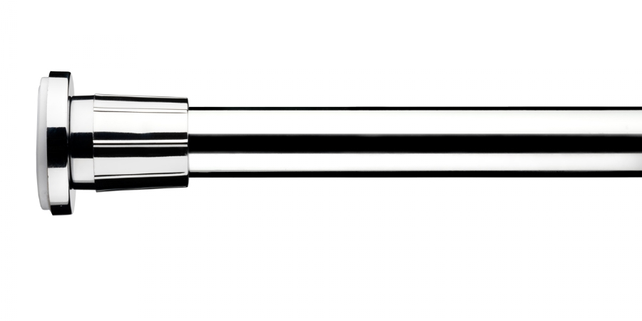 Picture of 1.10 to 1.83m Chrome Curtain Rod