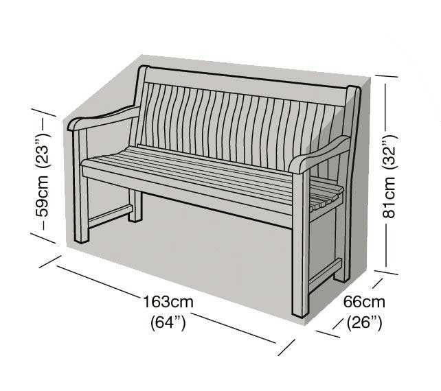Picture of Garland 3 Seater Bench Cover