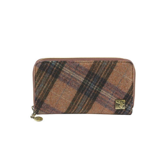 Picture of Tweed Purse - Pink Grid