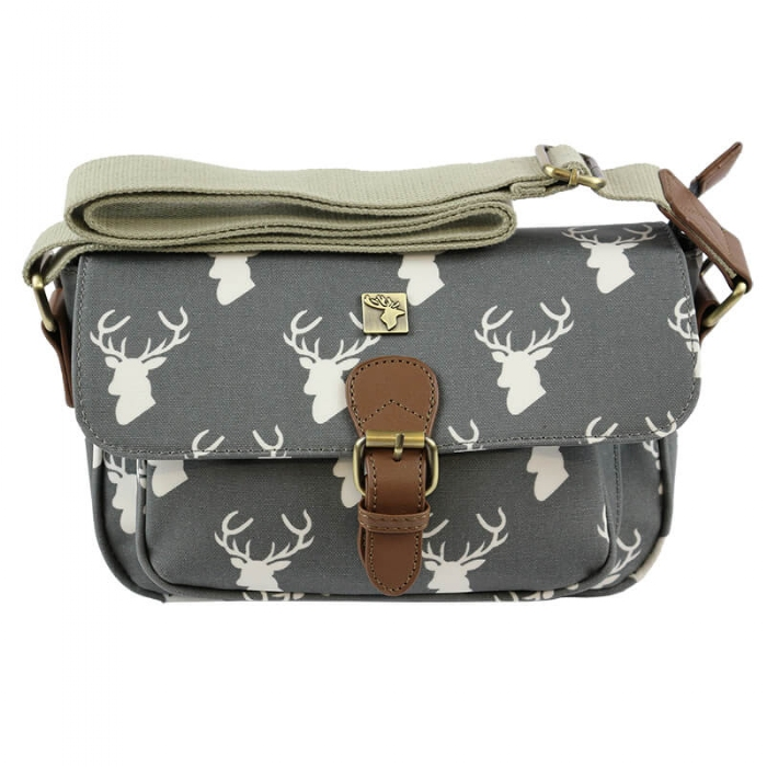 Picture of Small Satchel - Wax Grey Tree