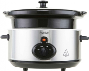 Picture of Prestige 47132 Slow Cooker 3.5ltr Chrome