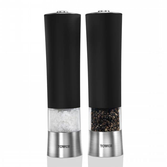 Picture of Tower Electronic Salt And Pepper Mill Set