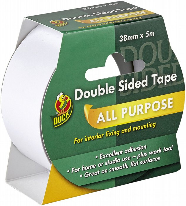 Picture of Duck D/Sided Tape 38mm x 5m
