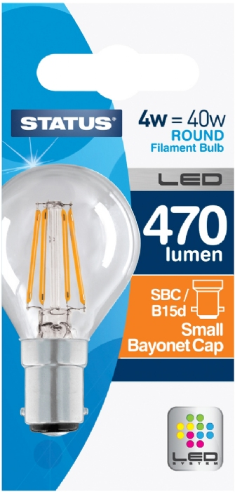 Picture of Status 4/40w Golf Filament LED WW SBC