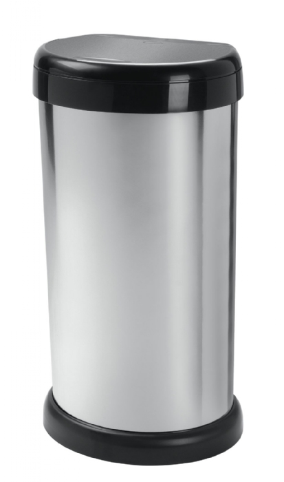 Picture of Moda 42Ltr Touch Bin Silver