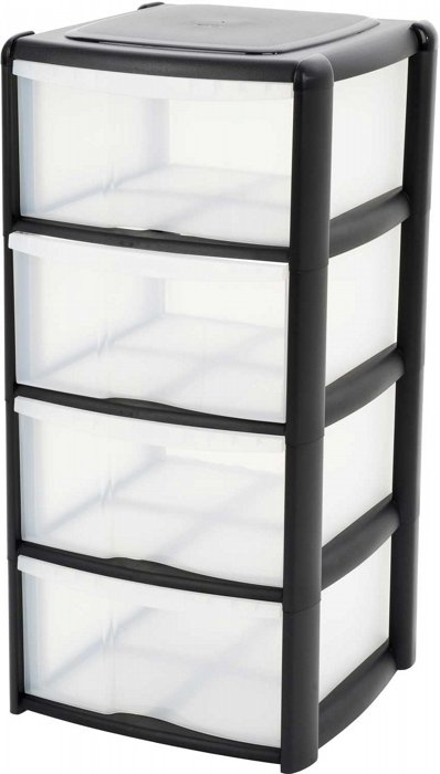 Picture of Tontarelli  4 Drawer Storage Unit