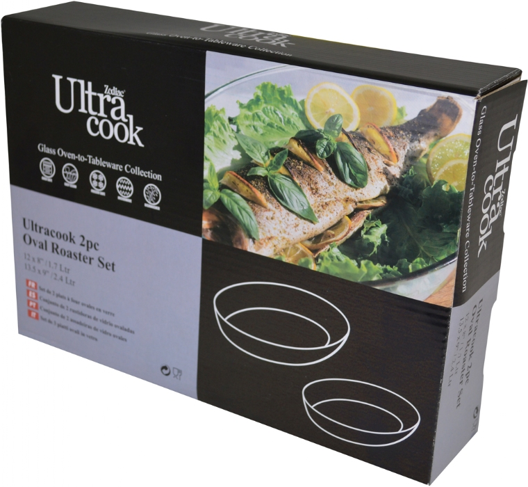 Picture of UltraCook 2p Oval Roaster Set